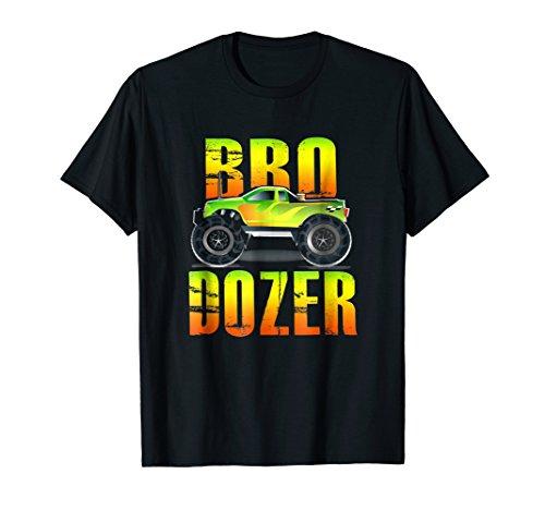 (Bro Dozer Monster Truck t-shirt for Boys)