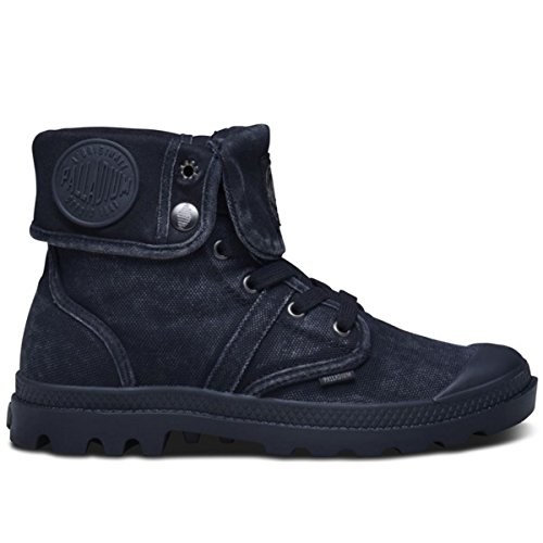 Palladium Womens Pallabrouse Baggy Black Canvas Trainers 8 US