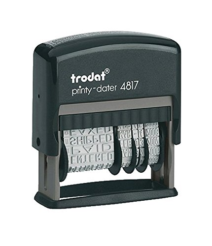 Free Trodat 4817 Date Stamp with 12 Changeable Messages