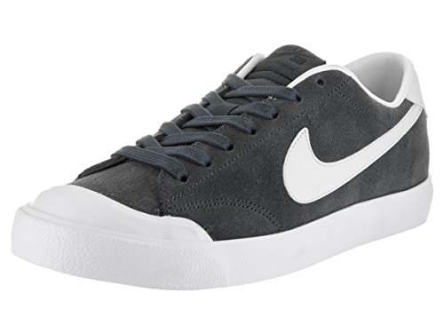 NIKE Herren Zoom All Court CK Skate Schuh Anthrazit / Phantom / Wht / Blk