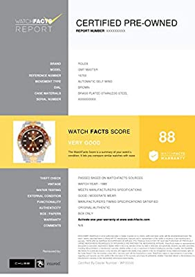 Rolex GMT Master Automatic-self-Wind Male Watch 16753 (Certified Pre-Owned) from Rolex