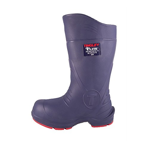 TINGLEY 26256.1 26256 SZ10 Footwear: Boots-Rubber Safety Toe, 10 Blue by TINGLEY (Image #1)