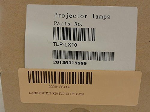 OEM TLP-LX10 Projector Lamp, UHE-AB, 200W, 102466897