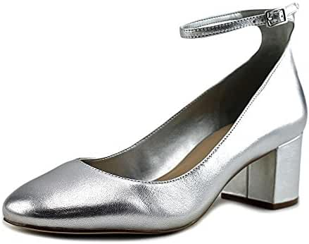 Aldo Clarisse Round Toe Leather Heels