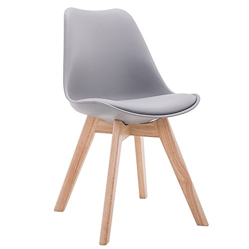 Amazon.com: Silla de madera, silla de comedor de madera ...
