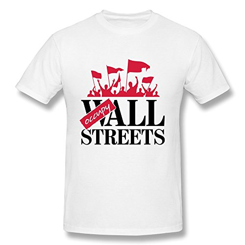 KEMING Men's Occupy Wall Streets T-shirt S