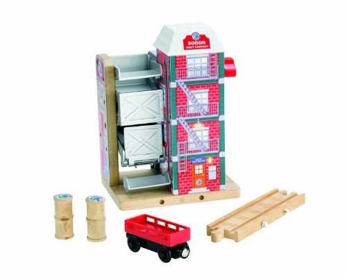 Railway Factory - Thomas & Friends Fisher-Price Wooden Railway, Sodor Paint Factory