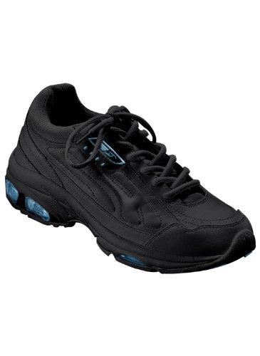 Dr Scholls Walking Shoes - Lace-Up Walkers, Color Black, Size 10 XW