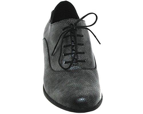 de de Zapatos Piel Mephisto Cordones Mujer Lisa 5taqdwwxSF