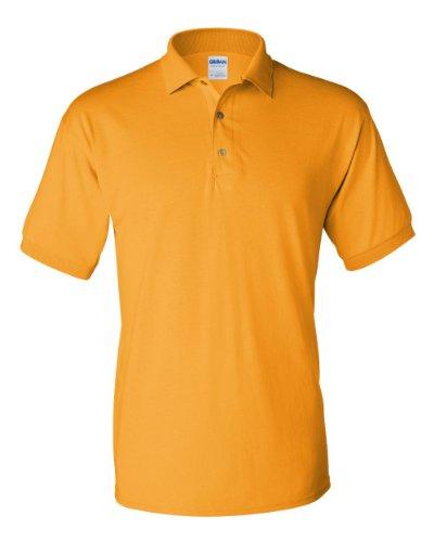 Adult Polyester Jersey - Gildan Adult Gildan DryBlendTM Jersey Polo G8800 - Garnet_S