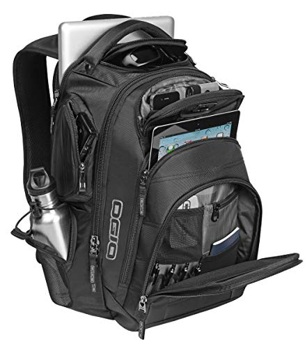 "Ogio Renegade RSS Sports Active Backpack - Black / 19.5""h x 14"" w x 8""d"