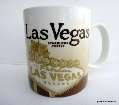 (2009 Las Vegas Nevada Starbucks Icon Global Collector Series Coffee Tea Mug )