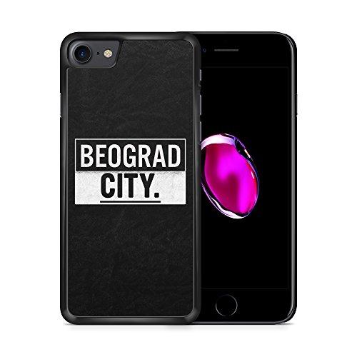 BEOGRAD City iPhone 7 SCHWARZ Hardcase Hülle Cover Case Schale Serbien Srbija Serbia Belgrad