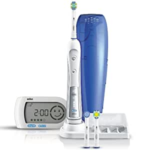 Oral-B Braun Triumph 5000 Five-Mode Power Toothbrush with Wireless Smart Guide (Packaging and Smart Guide Varies)