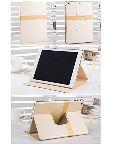 Pioneer Tech® 360 Rotating Stand Smart Cover iPad Mini 1 iPad mini2 Girly Tiffany Case (Ferrero)