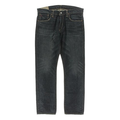 Polo Ralph Lauren Mens Denim Slim Fit Classic Straight Jeans 40/30 (Lauren Denim Polo Ralph)