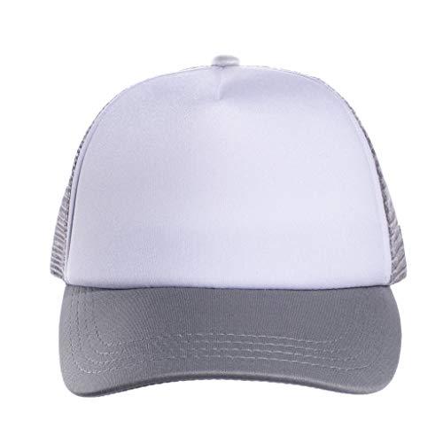 (Born to Love Baby Boy Infant Trucker Hat Snap Back Sun Mesh Baseball Cap (XS 43cm), Gray White)