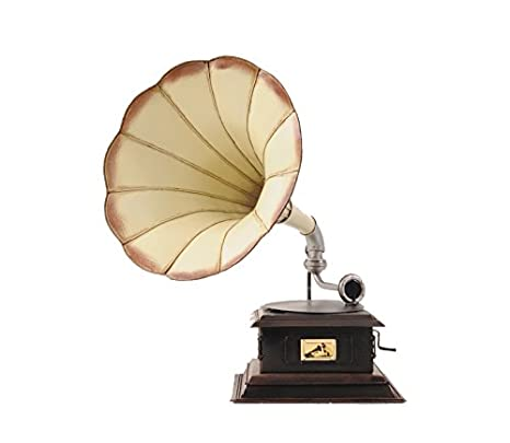 Amazon.com: Antiguo Artesanía moderno 1911 HMV Gramófono ...
