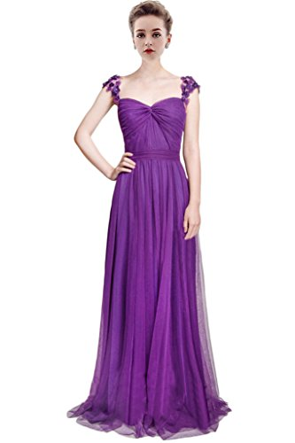 Vimans -  Vestito  - linea ad a - Donna Purple 2 46