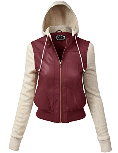 Plus Size Comfortable Junior Sizing Fleece Hoodie Jackets