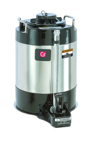 Grindmaster-Cecilware AVS-1.5A Vacuum Insulated Shuttle, 1.5-Gallon, Black with Stainless Steel by Lee Global Imports and Consulting, Inc.