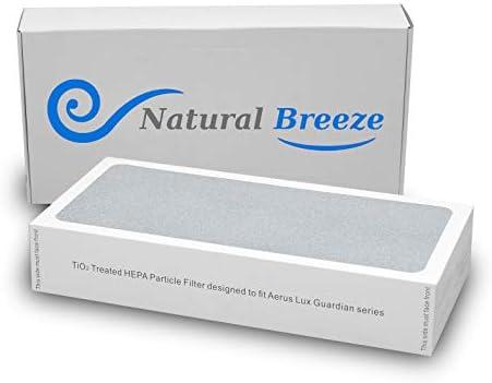 Natural-Breeze HEPA Filtro de Repuesto para purificador de Aire Tio2 ELECTROLUX Aerus Lux Guardian: Amazon.es: Hogar