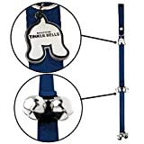 Mighty Paw Tinkle Bells, Premium Quality Dog Doorbells, Housetraining Doggy Door Bells for Potty Training (Blue) Review