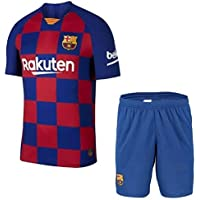 GOLDEN FASHION Barcelona Home KIT Football Jersey with Short 2019-20