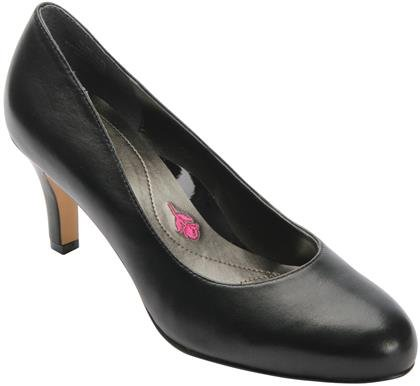 Drew Shoe 75055 Womens Janet Shoes, Black Leather - 11.5WW by Drew Shoe