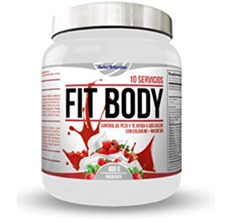 Perfect nutrition Fit Body - 400 gr Vainilla: Amazon.es: Alimentación y bebidas