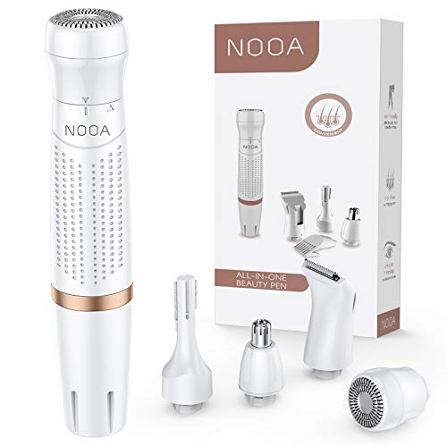 NOOA Small Hair Removal for Women Face, Underarm, Leg Wet and Dry -1 Year Warranty(Battery not Include)