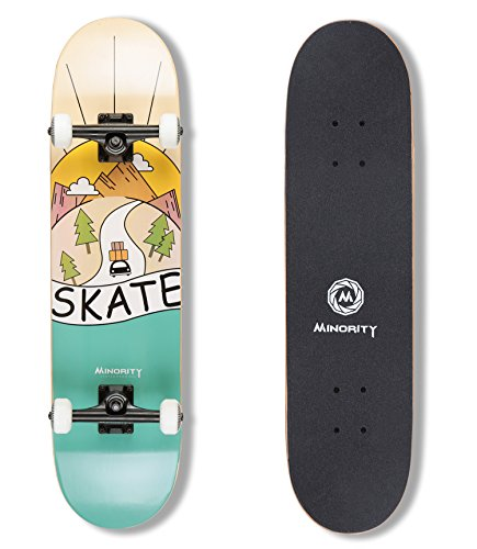 MINORITY 32inch Maple Skateboard (Sunset)