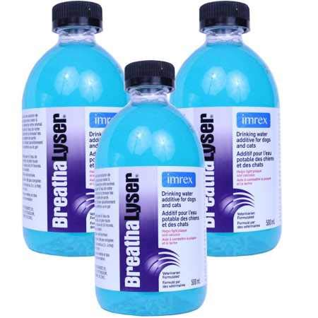 (Breathalyser 3PACK Water Additive (1500 mL) )