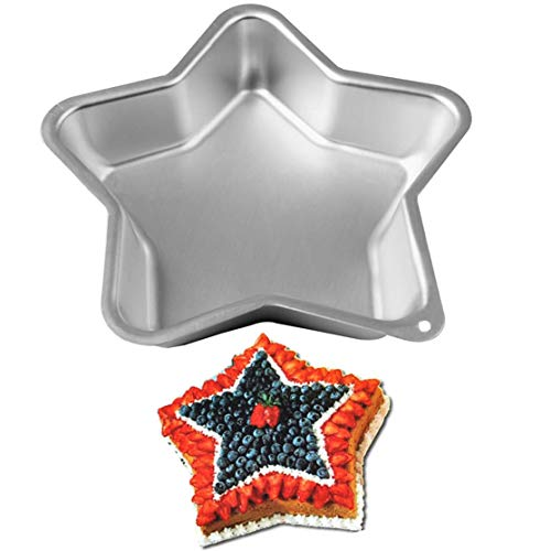 WOTOY Star Cake Baking Pan Mold - Aluminum Alloy (Cake Star Pan Wilton)