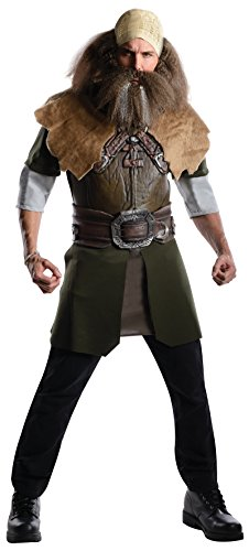 Rubie's Costume The Hobbit Deluxe Dwalin, Multicolor, Adult One Size Costume - Hobbit Costume Shirt