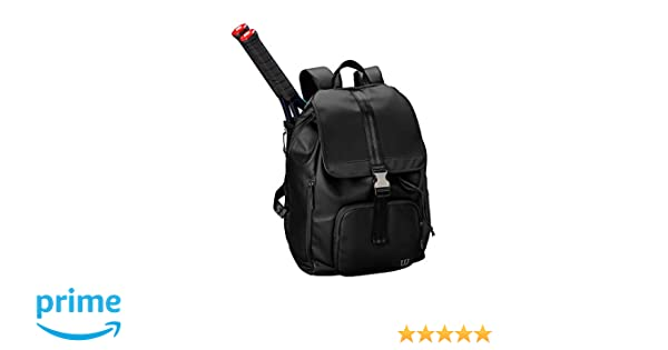 Amazon.com  Wilson Women s Fold Over Backpack, Black  Sports   Outdoors 63342fec33