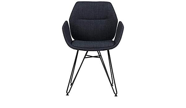 Amazon.com: Hebel Modern Fabric/Metal Accent Arm Chair | Model CCNTCHR - 349 |: Kitchen & Dining