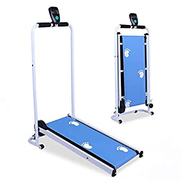 Grupo K-2 Cinta De Correr Plegable Mini Sc03 Azul: Amazon.es ...