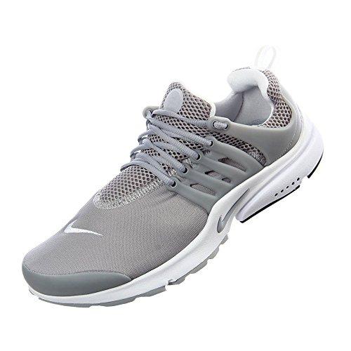 Nike Mens Luft Presto Väsentlig Wolf Gråvit 013