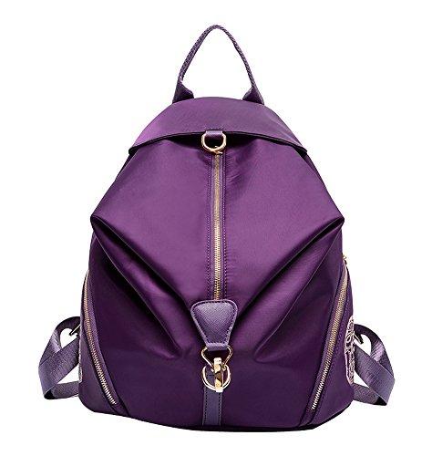 Nylon Backpack Handbag - 1