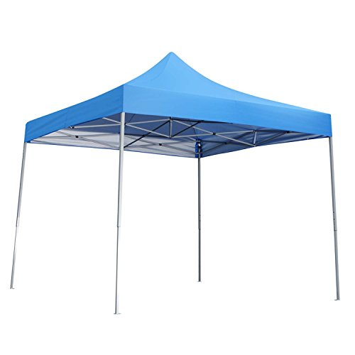 Cheap 10×10 Ft Pop Up Outdoor Canopy Tent For Event Party Gazebo Blue