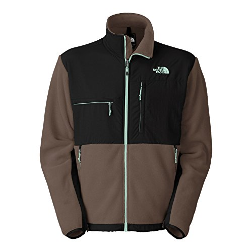 (The North Face Denali Classic Fleece Men's Jacket in WEIMARANER BROWN/TNF BLACK)