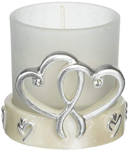 Double Heart Candle Holder Wedding Favors, 72 - Beachfront ...
