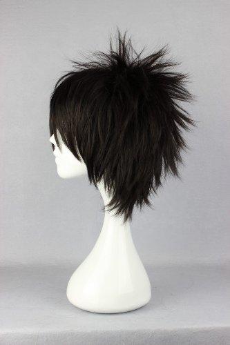 cosplaza peluca Anime Cosplay Wig Blanco Negro Mixed monokuma ...