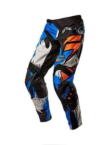 Shift Racing Strike Army Men's MX Motorcycle Pants - Cyan/Size 30