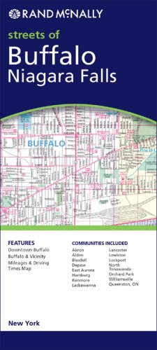 Rand McNally Buffalo, New York: City Map