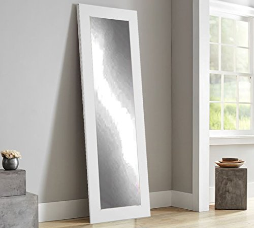 BrandtWorks BM3THIN Matte Full Length Mirror, 71 x 21.5'', White by BrandtWorks