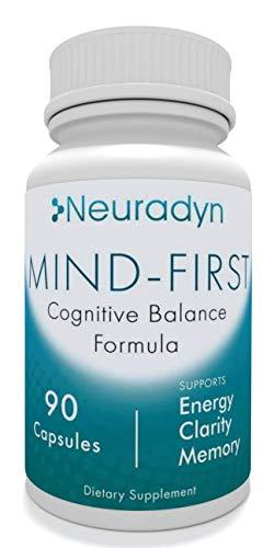 Neuradyn Long Term Support Cognitive Supplement - 3 Ginseng Blend with Huperzine A, L-Theanine, Golu Kola, Bacopa (90 Capsules)