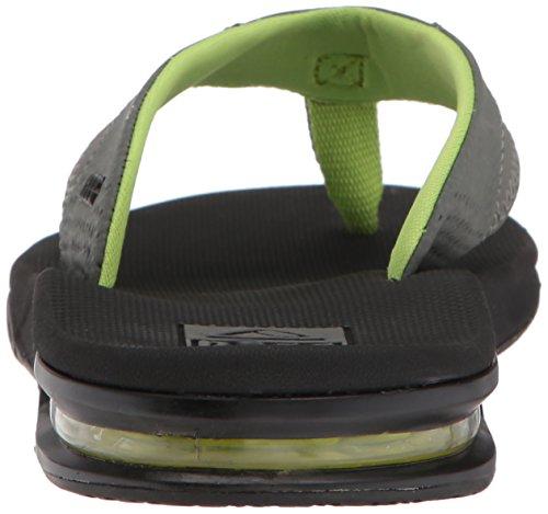 Sandalo Da Uomo Con Mantella Nero / Verde