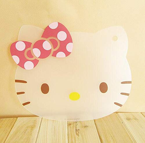 (Best Quality - Chopping Blocks - Super Cute Kitchen Cooking Tools Flexible Plastic Cutting Board Hello Kitty Slim Cut Fruit Cutting Board Can Be Bent 3124cm - by DINAX - 1 PCs)